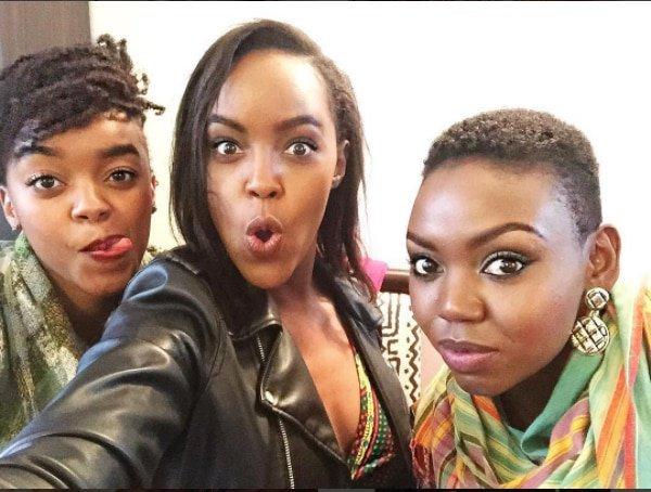 Edith Kimani, Sharon Mundia and Patricia Kihoro