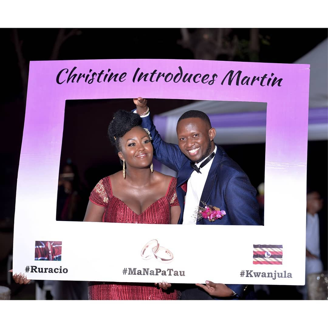 Martin Githinji married his Ugandan sweetheart Christine Kokueendera Lwanga