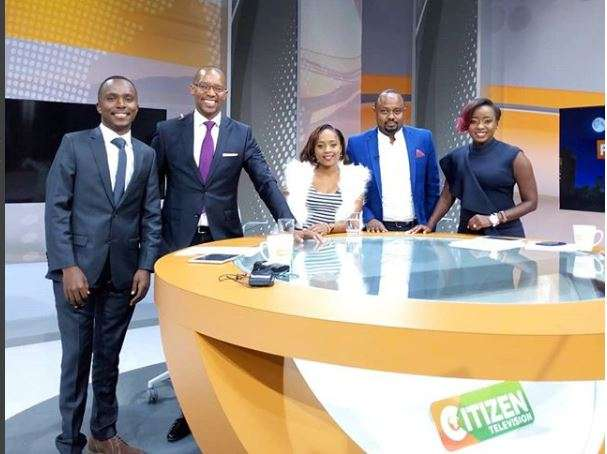 Citizen TV employees share update after being involved in accident