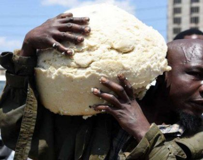 Ugali man! Man who 'saved' humongous Ugali from being destroyed leaves Kenyans in stitches