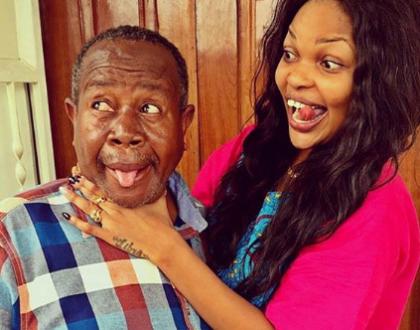 Wema Sepetu, Diamond Platnumz mourn Mzee Maji Moto with emotional posts