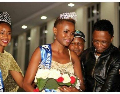 Shame for who! Ababu Namwamba shows up at a church service with 21-year-old mpango wa kando after chasing wife away (Photos)