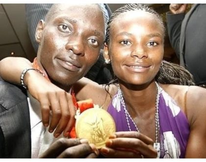 Disgraced athlete Asbel Kiprop begs wife for forgiveness weeks after raunchy video emerged