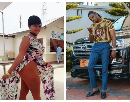 Bongo actress Aunt Lulu resorts to desperate measure to get Diamond's baby after the singer revealed that he had learnt to use condom