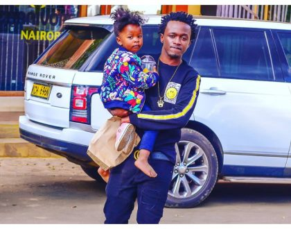 """Huoni uchungu napitia"" Bahati responds to Diana Marua after she left her matrimonial home claiming he was neglecting her"