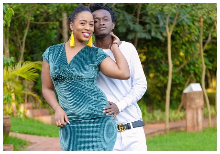 They are back together! Bahati wooed Diana Marua with brand new Mercedes?(Photos)