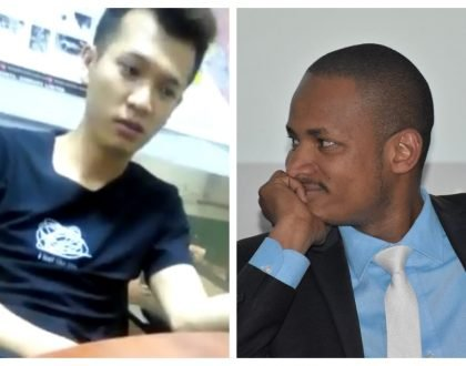 Chinese national living in Kenya calls president Uhuru a monkey... Babu Owino responds