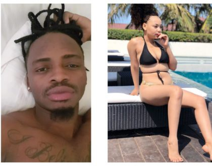 Young and rich! Diamond Platnumz rumored side chick provides titles to all her 5 cars, checkout the heavy machines she owns!