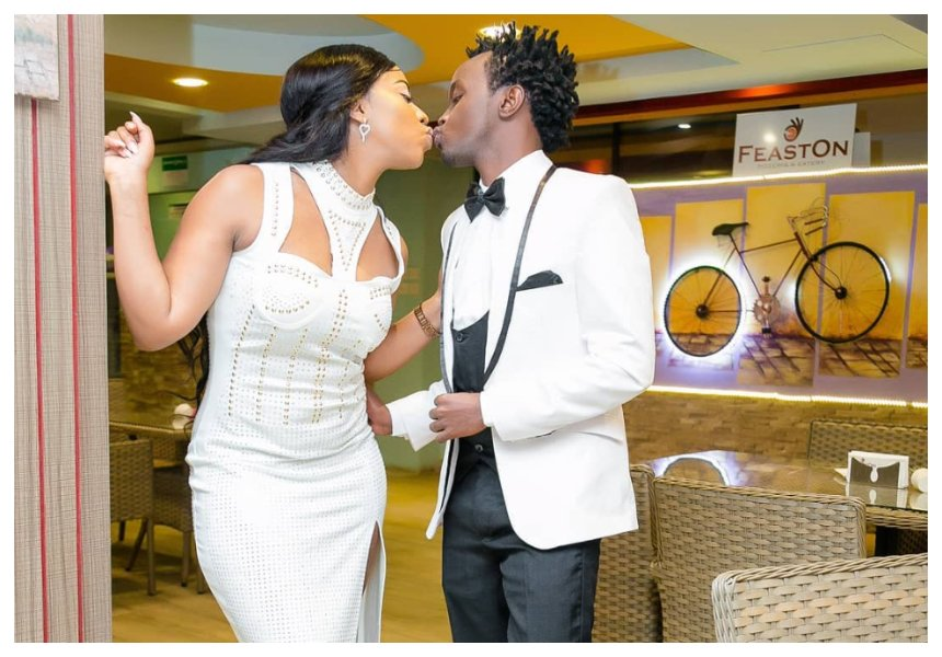 Diana Marua breaks down in tears after Bahati surprises her with a fully furnished house (Video)