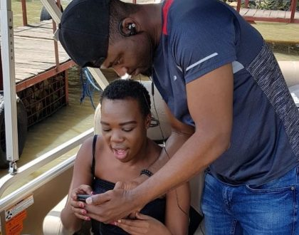 Ruth Matete and boyfriend expecting a baby girl!