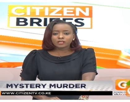 Monica Kimani's death big irony! How Jackie Maribe reported the murder on Citizen TV knowing or not knowing her fiance was the alleged killer
