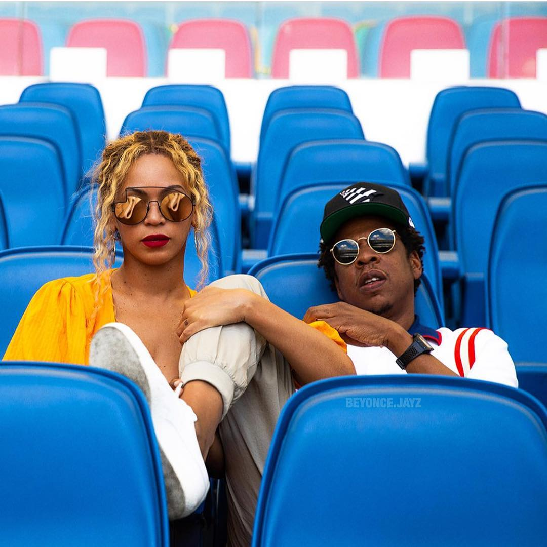 Jay Z and wife Beyonce