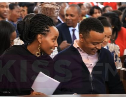 Marriage life is good! Uhuru's son Jomo Kenyatta gains more weight months after he became a father (Photos)