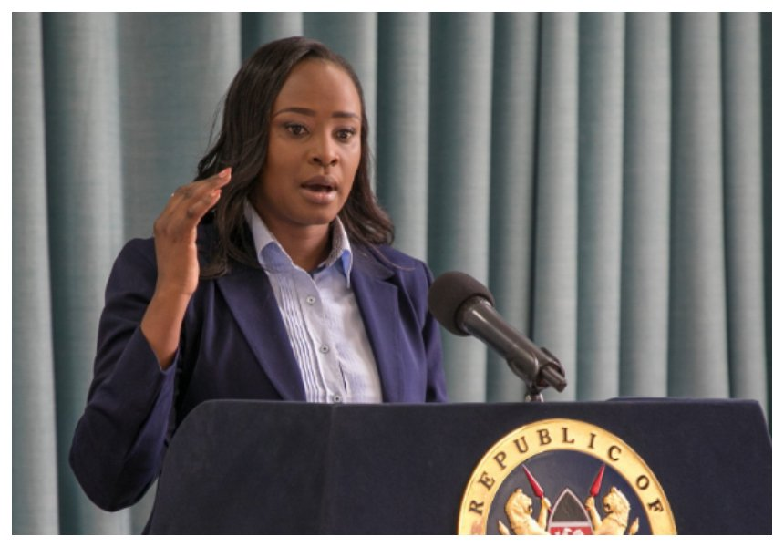 THIEF! Do you know why Kanze Dena was appointed at Statehouse? Cyprian Nyakundi spills the beans