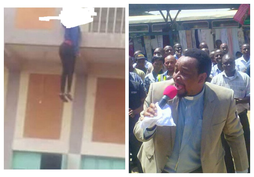"""She couldn't manage to raise her rent"" Kayole preacher speaks of woman who hanged herself from the balcony"
