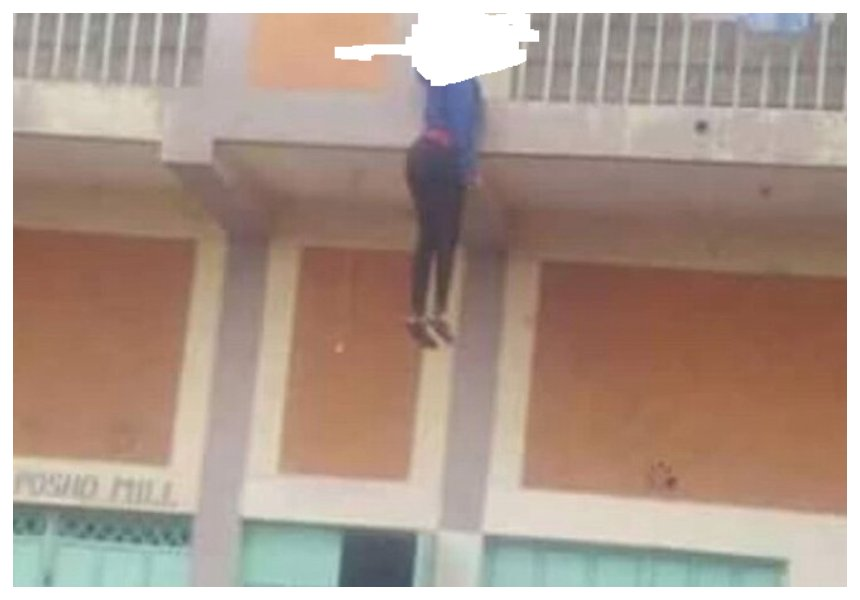 Kayole lady hangs herself from apartment balcony after posting suicide note on Facebook (Photos)