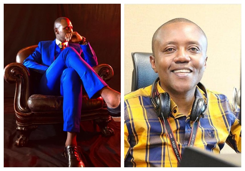 King Kaka takes shots at Maina Kageni for playing too much of Wasafi record's songs