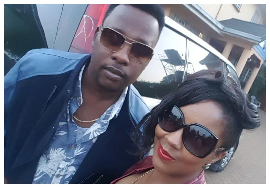 Who mentioned divorce? Singer Marya crawls back to her baby daddy Kevin Mutisya after splitting for a month