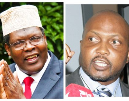 """I regret dining with you when I knew very well you had three rape cases"" Moses Kuria shreds Miguna Miguna"