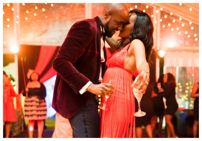 'Uko juu kama kamba ya kujinyonga' comment makes Ronald Karauri's wife go over the moon during his birthday party (Photos)