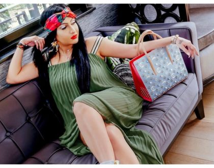 Meet Kenya's first luxury vlogging queen who owns the most expensive handbag on Kenyan soil - 1.6 million (Photos)