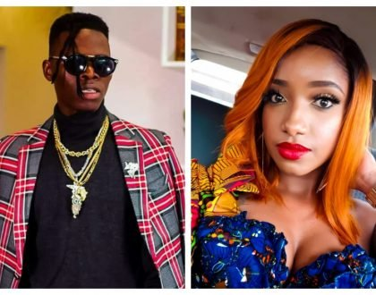 """I spammed her until she responded, Anita Nderu I love you"" Vicmass Luodollar reveals why he owes his career to Anita Nderu"