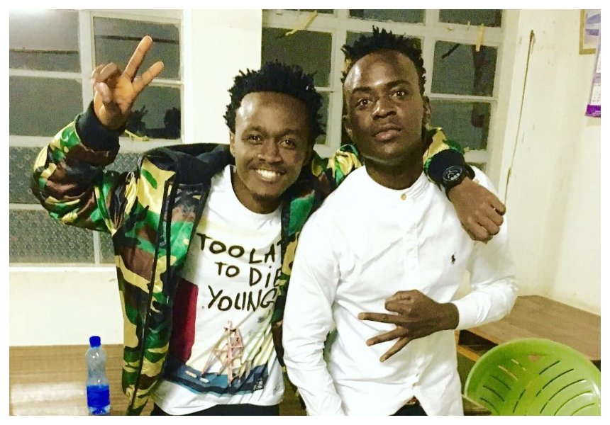 Willy Paul's savage response after video vixen comes out to claim Bahati and him don't pay girls who appear on their videos
