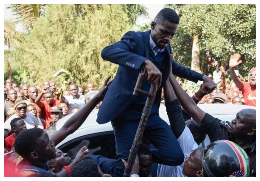 """I will announce plans for us to meet"" Bobi Wine sends message to Kenyans after they stood up to condemn his arrest and torture"