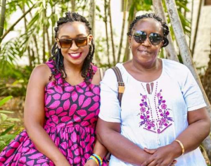 Betty Kyalo's mum to Betty: Funga masikio and focus on greatness