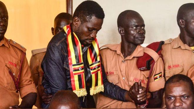 Bobi Wine in court