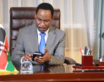 Moral cop Ezekiel Mutua: Bishop Kiuna's preaching made me cry. Reminded me when I stole bread and milk because of hunger
