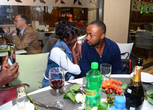 Screenshots: When Jaque Maribe promised to never leave her boyfriend no matter what happens
