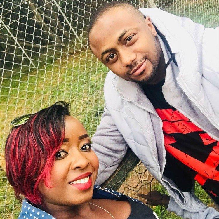 Jacque Maribe with her fiance Joseph Irungu