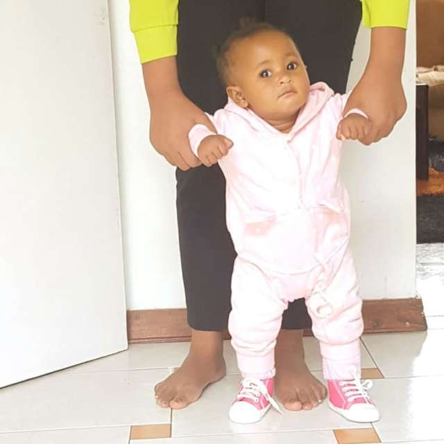 Size 8 was afraid of leaving the hospital after giving birth to her first child