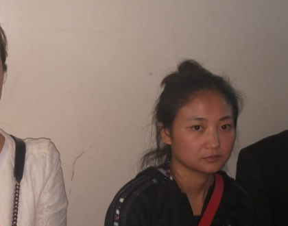 The 12 illegal Chinese prostitutes were in found inex-presidential candidate Abduba Dida's house