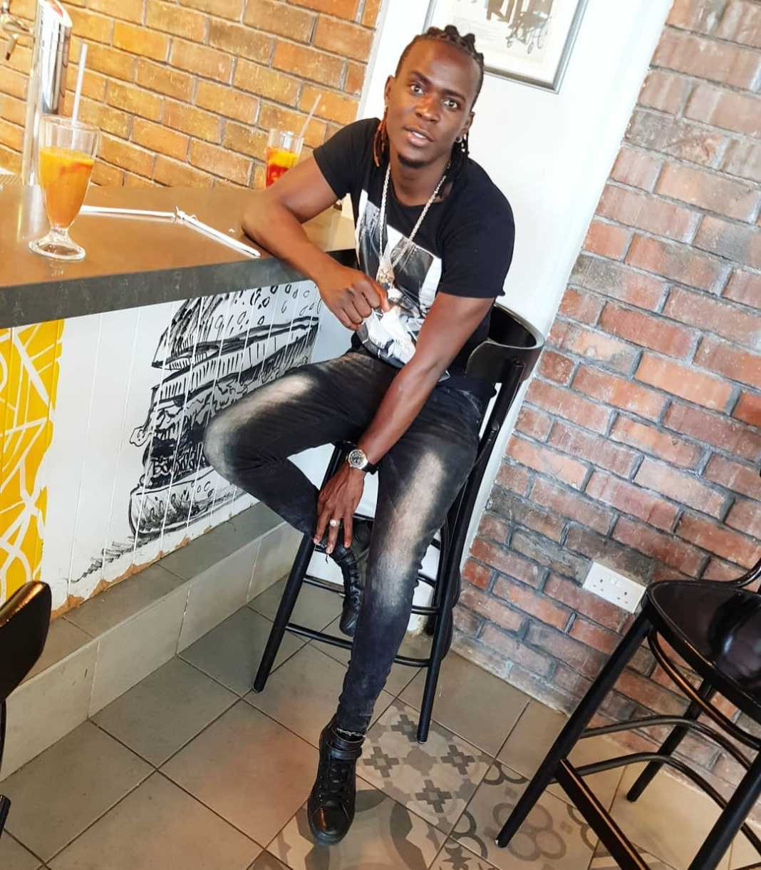 Willy Paul lands in New York in style( photo)
