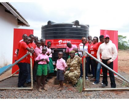 Airtel does something amazing in support of community wildlife conservation around Tsavo West National Park