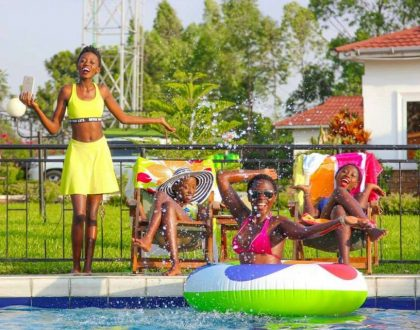 Tax ni wewe! Akothee shares the millions she pays in school fees every term for her kids