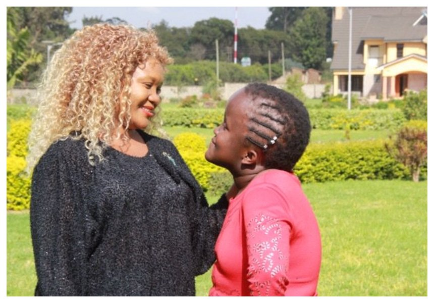 Anne Ngugi's daughter opens up about her struggle with birth defect - congenital hydrocephalus