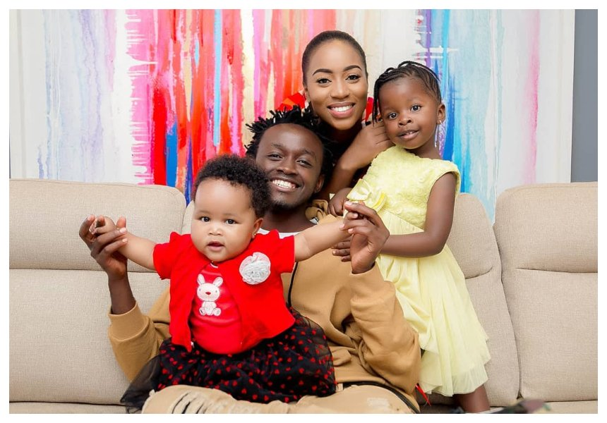 Diana Mwarua sends Bahati sweet message after his recent helping acts