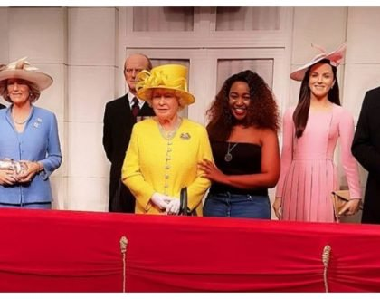 Betty Kyallo meets Queen Elizabeth and other UK royals (Photos)