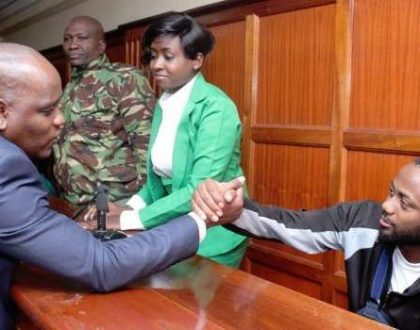 Dennis Itumbi denies he's fighting for Jacque Maribe in court so that she can marry him when out