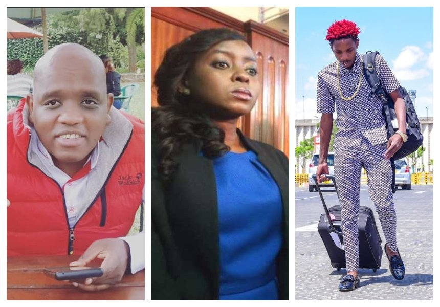 """He expressed his friendship towards Jacque Maribe just like me"" Dennis Itumbi defends Eric Omondi"