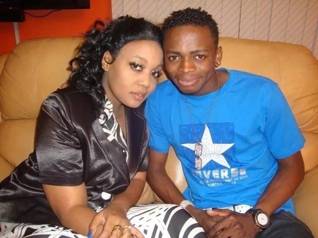 Irene Uwoya and Diamond Platnumz back then when they were still dating