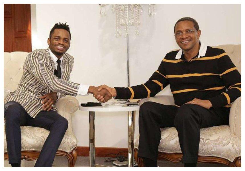 """""""Vijana tumeambiwa hatuna tena thamani"""" Diamond complains to ex President Jakaya Kikwete about how Magufuli has messed the youth"""