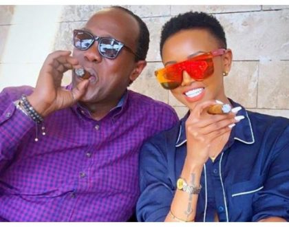 Fans bash Huddah after she pleaded Uhuru Kenyatta to legalize bhang