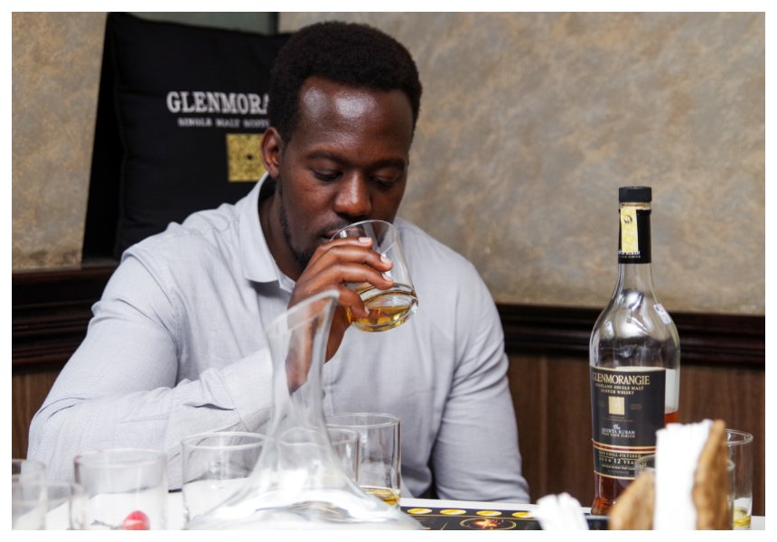 Revelers at Kiza lounge treated to Glenmorangie single malt whisky tasting (Photos)