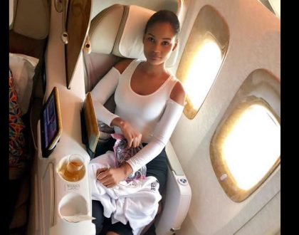 Hamisa Mobetto flies off to the United States for a major lucrative deal!