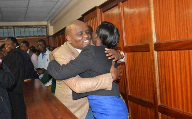 Itumbi celebrates with this lovely message after Jacque Maribe is released