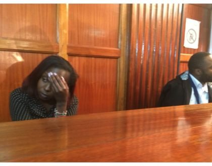 Jacque Maribe briefly reunites with fiancé Joseph Irungu before she is shipped to Langata prison to join Ruth Kamande (Photos)